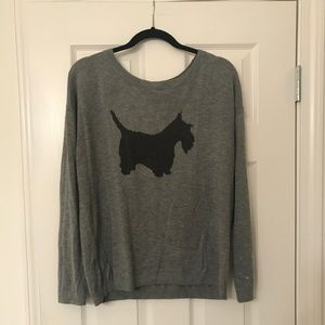 Scottie Dog Sweater